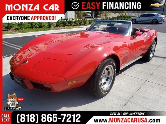 1975 Chevrolet Corvette (CC-1528077) for sale in Sherman Oaks, California