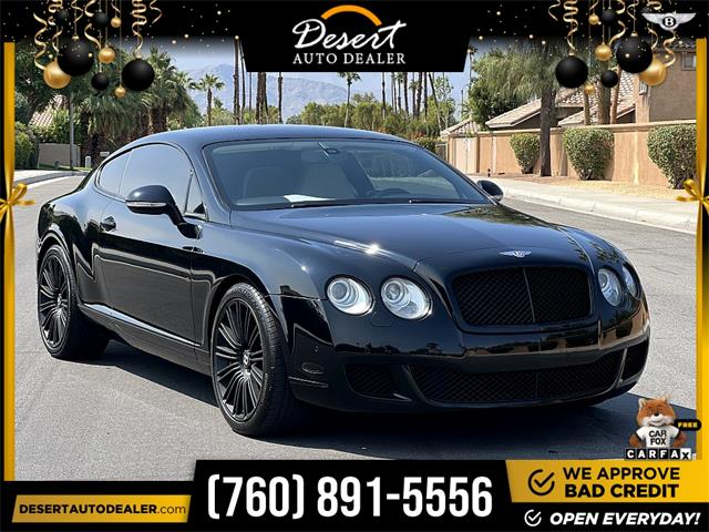 2010 Bentley Continental (CC-1528091) for sale in Palm Desert, California