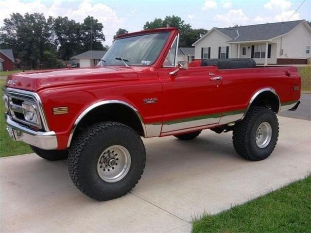 1972 GMC Jimmy (CC-1528102) for sale in Cadillac, Michigan