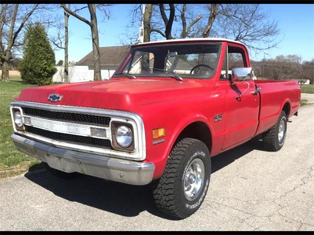 1970 Chevrolet 1/2-Ton Pickup (CC-1528326) for sale in Harpers Ferry, West Virginia