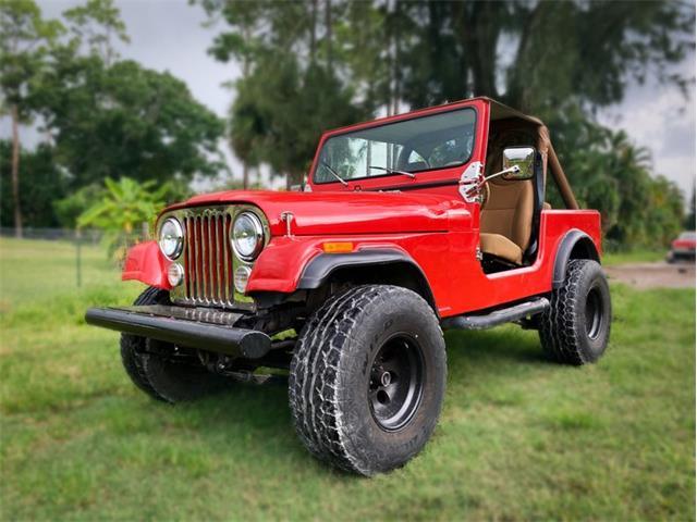 1986 Jeep CJ (CC-1528332) for sale in Delray Beach, Florida
