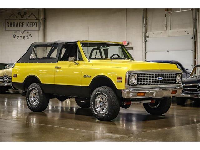 1972 Chevrolet Blazer (CC-1528488) for sale in Grand Rapids, Michigan