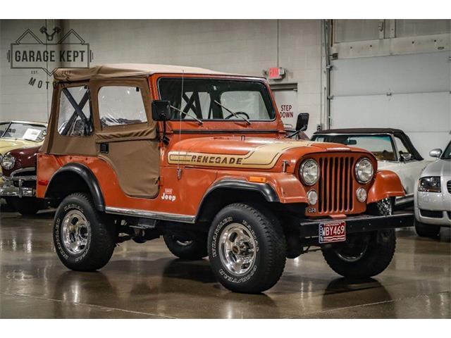1976 Jeep CJ5 (CC-1528514) for sale in Grand Rapids, Michigan