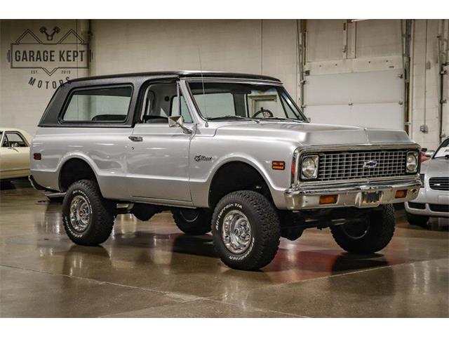 1972 Chevrolet Blazer (CC-1528539) for sale in Grand Rapids, Michigan