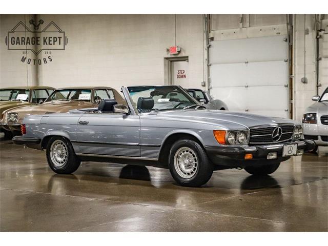 1982 Mercedes-Benz 380SL (CC-1528566) for sale in Grand Rapids, Michigan