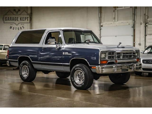 1989 Dodge Ramcharger (CC-1528580) for sale in Grand Rapids, Michigan