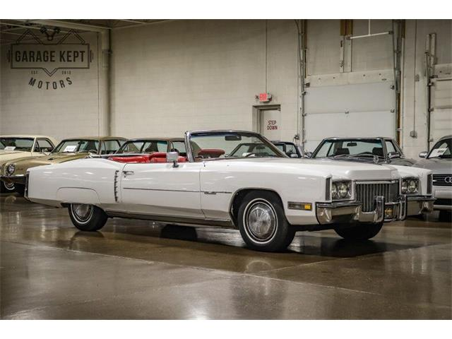 1972 Cadillac Eldorado (CC-1528583) for sale in Grand Rapids, Michigan