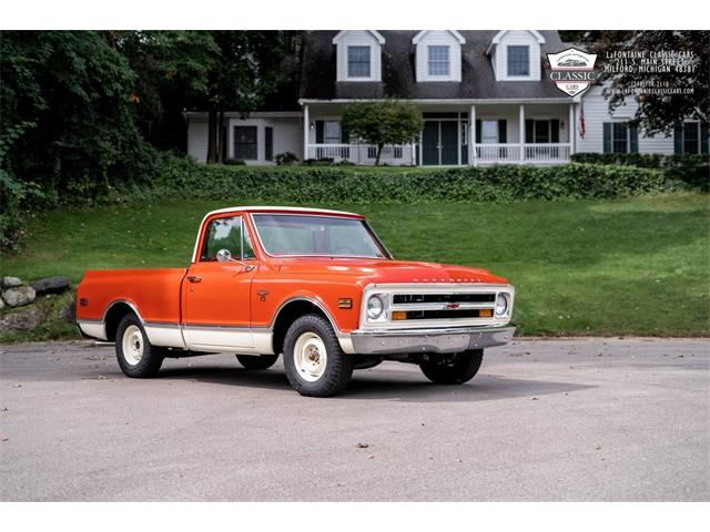 1968 Chevrolet C10 (CC-1528666) for sale in Milford, Michigan