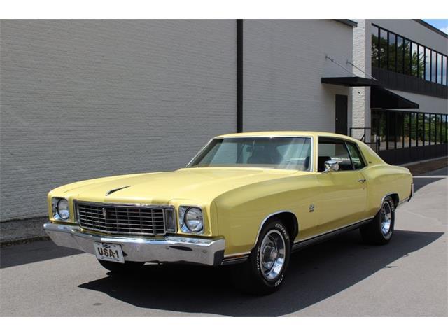 1972 Chevrolet Monte Carlo (CC-1528667) for sale in Greensboro, North Carolina