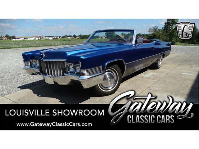 1970 Cadillac Convertible (CC-1528682) for sale in O'Fallon, Illinois
