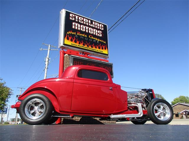 1933 Ford 3-Window Coupe (CC-1528795) for sale in Sterling, Illinois