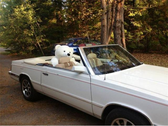 1985 Chrysler LeBaron (CC-1529032) for sale in Cadillac, Michigan