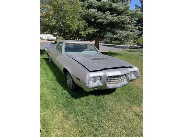 1972 Ford Ranchero (CC-1529087) for sale in Cadillac, Michigan
