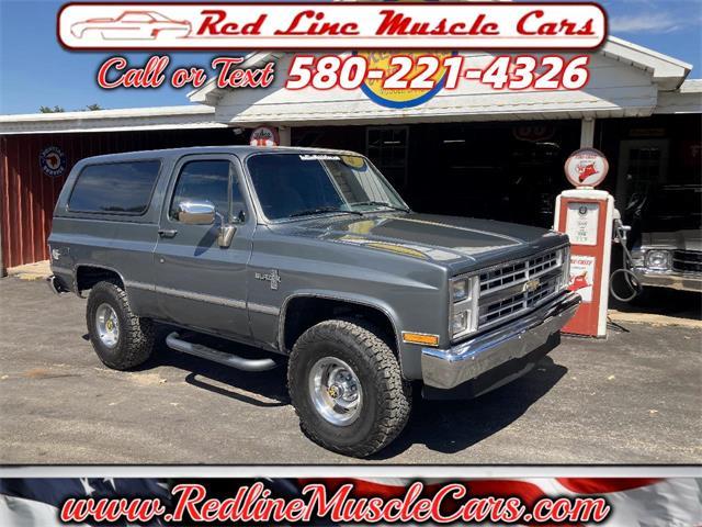 1988 Chevrolet Blazer (CC-1529109) for sale in Wilson, Oklahoma