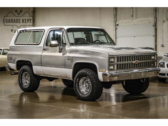 1981 Chevrolet Blazer (CC-1529162) for sale in Grand Rapids, Michigan