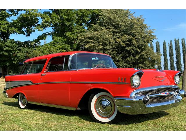 1957 Chevrolet Bel Air Nomad (CC-1529174) for sale in Carnation, Washington