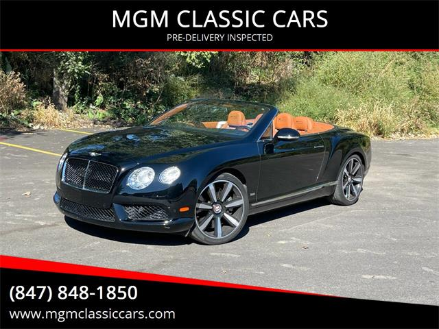 2013 Bentley Continental (CC-1529327) for sale in Addison, Illinois