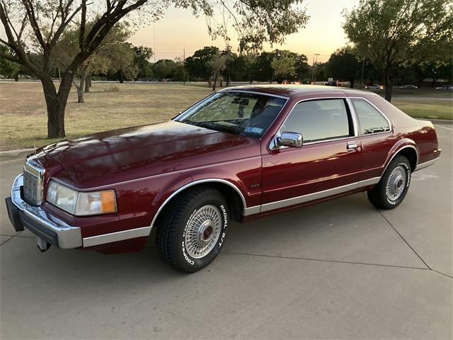 1989 Lincoln Mark VII (CC-1529617) for sale in Denton, Texas