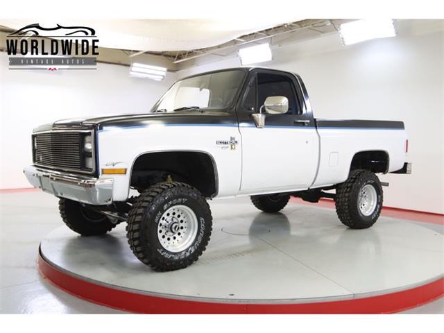 1987 Chevrolet K-10 (CC-1529644) for sale in Denver , Colorado