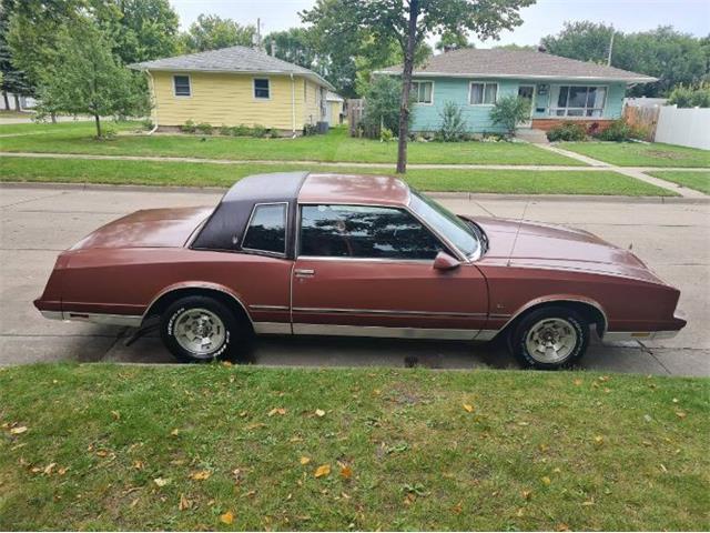 1986 Chevrolet Monte Carlo (CC-1529707) for sale in Cadillac, Michigan