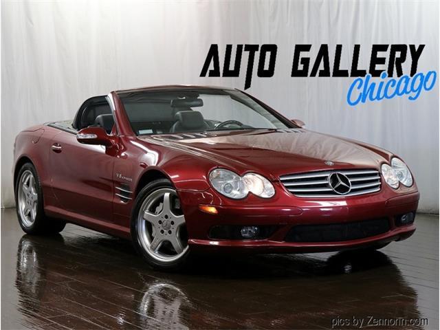 2003 Mercedes-Benz SL55 (CC-1529728) for sale in Addison, Illinois