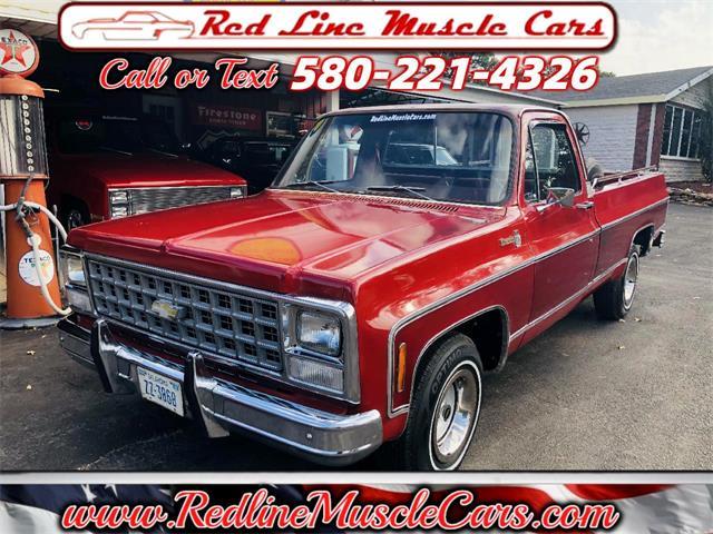 1980 Chevrolet Silverado (CC-1529811) for sale in Wilson, Oklahoma