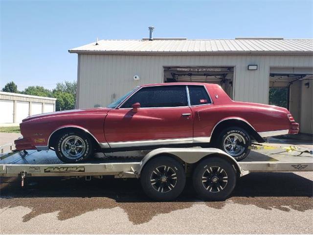 1980 Chevrolet Monte Carlo (CC-1529823) for sale in Cadillac, Michigan