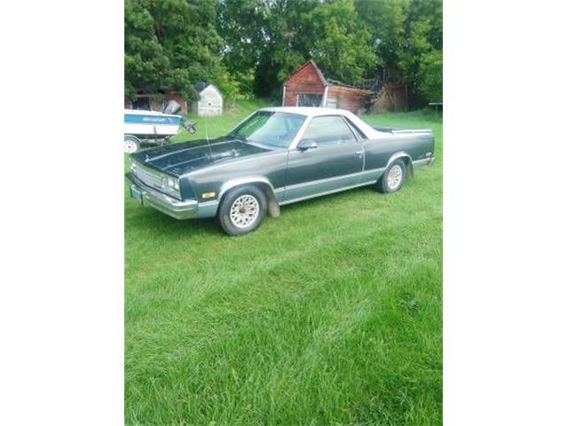 1986 Chevrolet El Camino (CC-1529829) for sale in Cadillac, Michigan