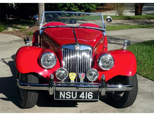 1954 MG TF (CC-1529848) for sale in TALLAHASSEE, Florida