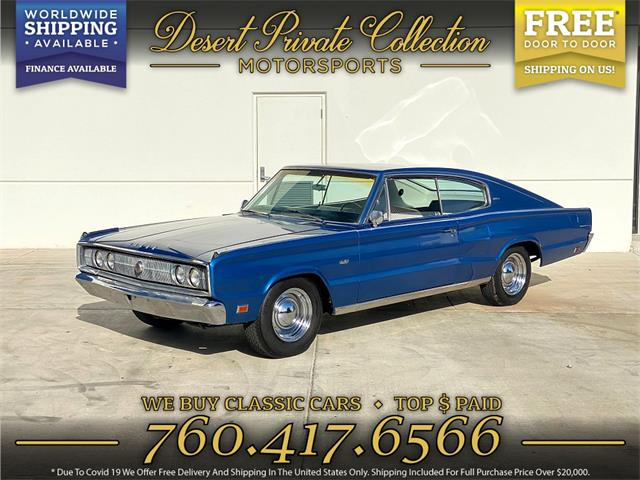 1967 Dodge Charger (CC-1531207) for sale in Palm Desert , California