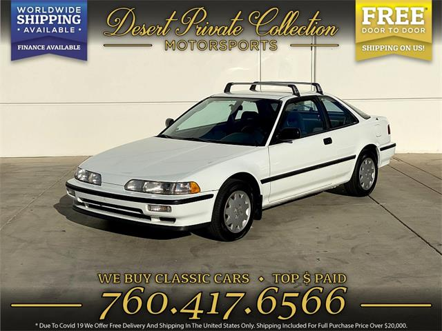 1990 Acura Integra (CC-1531209) for sale in Palm Desert , California