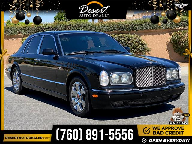 2003 Bentley Arnage (CC-1531210) for sale in Palm Desert, California