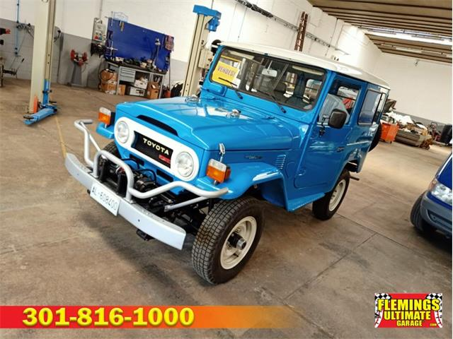 1979 Toyota Land Cruiser BJ (CC-1531248) for sale in Rockville, Maryland
