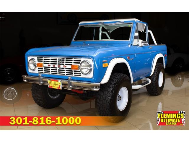 1972 Ford Bronco (CC-1531250) for sale in Rockville, Maryland