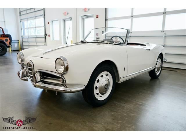 1956 Alfa Romeo Giulietta Spider (CC-1531264) for sale in Rowley, Massachusetts