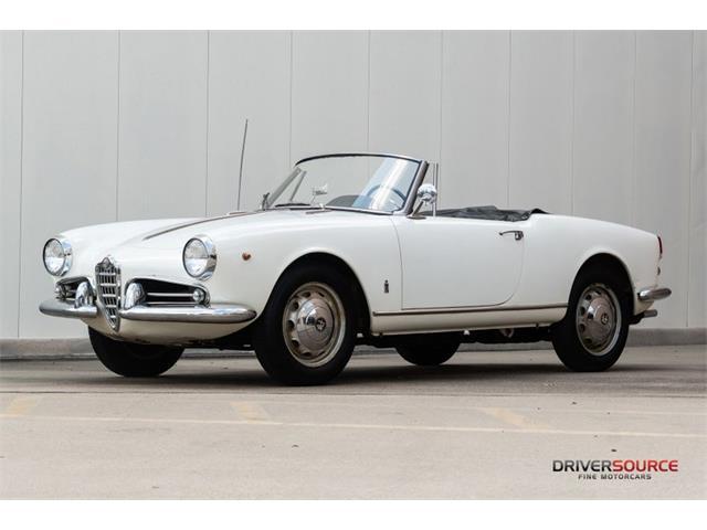 1961 Alfa Romeo Giulietta Spider (CC-1531267) for sale in Houston, Texas