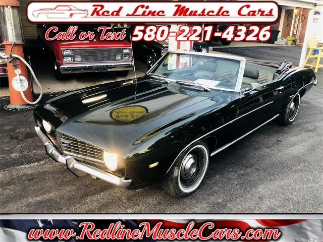 1969 Chevrolet Camaro (CC-1531317) for sale in Wilson, Oklahoma