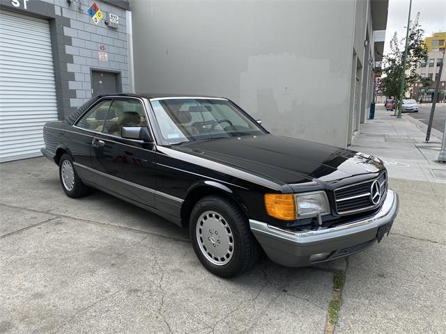 1990 Mercedes-Benz 560SEC (CC-1531336) for sale in Oakland, California