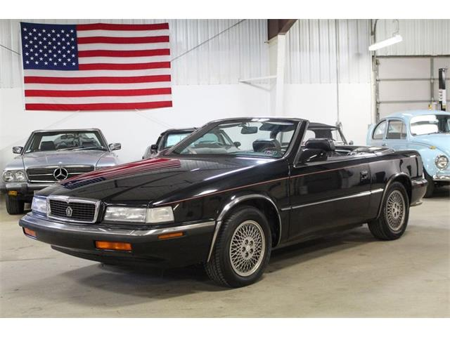 1991 Chrysler TC by Maserati (CC-1531406) for sale in Kentwood, Michigan