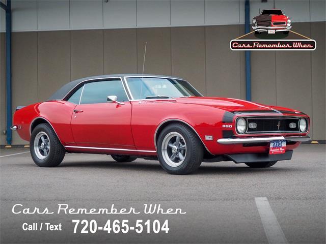 1968 Chevrolet Camaro (CC-1531530) for sale in Englewood, Colorado