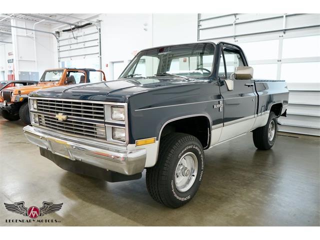 1983 Chevrolet Silverado (CC-1531559) for sale in Rowley, Massachusetts