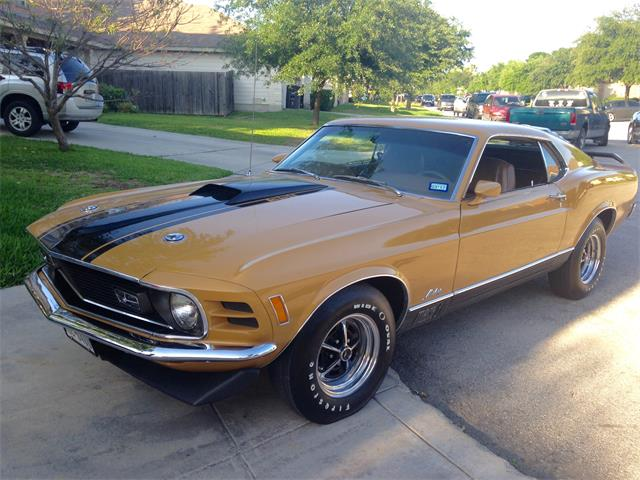 1970 Ford Mustang Mach 1 (CC-1530016) for sale in San Antonio, Texas