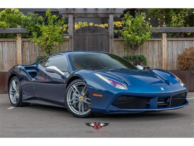 2018 Ferrari 488 GTB (CC-1531602) for sale in San Diego, California