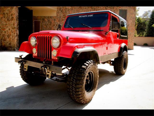 1986 Jeep CJ7 (CC-1531625) for sale in Greeley, Colorado