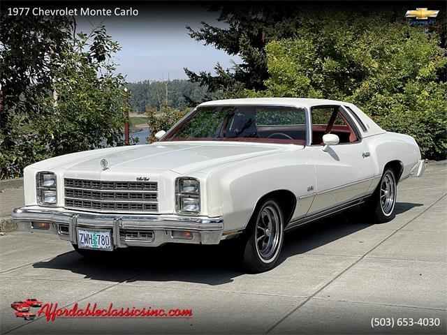 1977 Chevrolet Monte Carlo (CC-1531698) for sale in Gladstone, Oregon