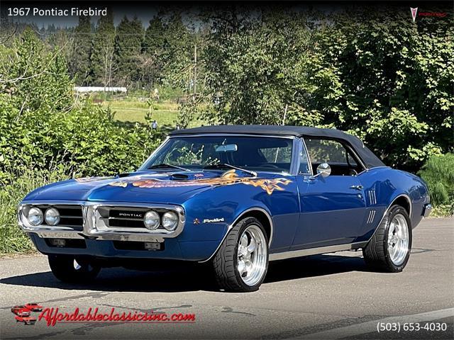 1967 Pontiac Firebird (CC-1531700) for sale in Gladstone, Oregon