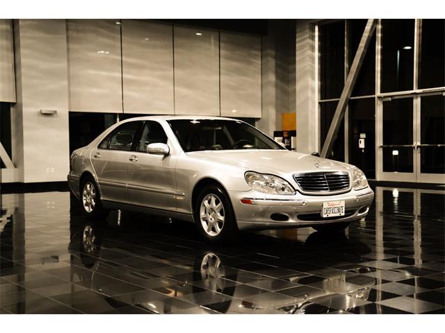 2001 Mercedes-Benz S-Class (CC-1531705) for sale in San Jose , California