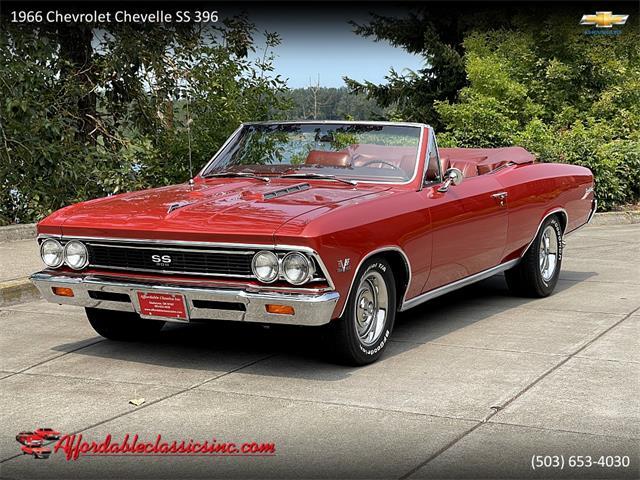 1966 Chevrolet Chevelle SS (CC-1531706) for sale in Gladstone, Oregon