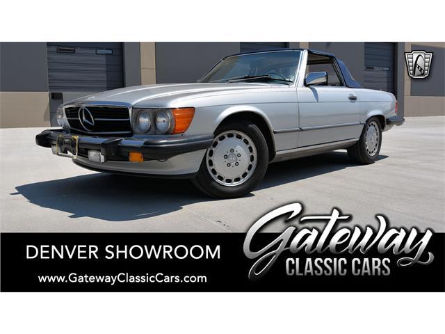 1986 Mercedes-Benz 560SL (CC-1531772) for sale in O'Fallon, Illinois