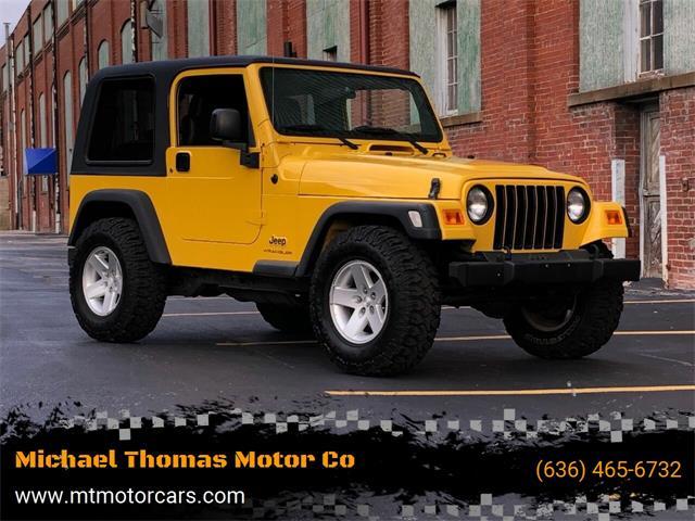 2006 Jeep Wrangler (CC-1531944) for sale in Saint Charles, Missouri